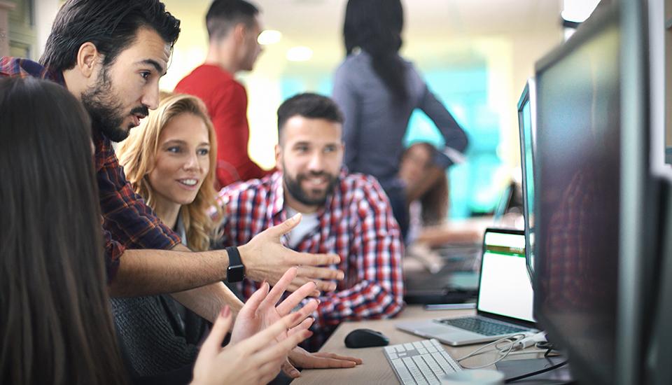 Training groep ICT Fourtop Cloudine